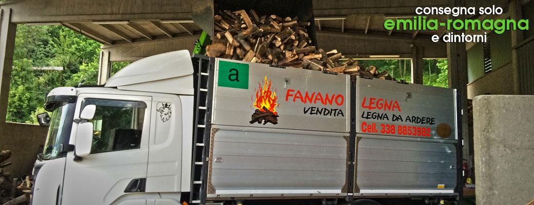 Fanano legna legna da ardere for Vendita legna da ardere